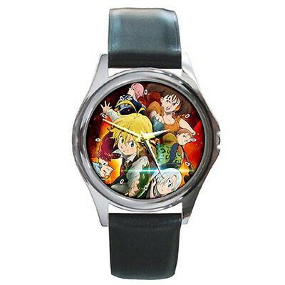 Nanatsu no Taizai The Seven Deadly Sins Manga Anime Leather Wrist Watches New