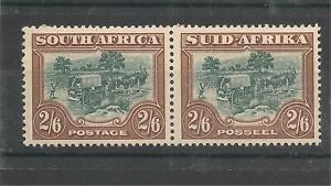 South-Africa-1944-Pair-2-6-Gibbons-49b-Mint-Never-Hinged