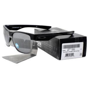 2566aeee39 Oakley OO 9350-01 POLARIZED TWO FACE XL Polished Black Iridium Mens ...