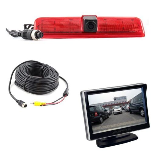 Ampire Caméra De Recul Moniteur Set VW Caddy Caméra Aide Au Stationnement Bj 2003-2015