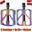 thumbnail 21 - PROMEND-Carbon-Tube-Titanium-Bicycle-Flat-Pedal-MTB-Road-Bike-Pedal-3-Bearings