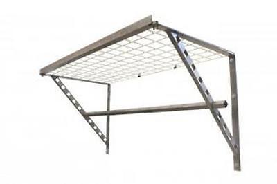 Monkey Bar Storage shelving Storage shelf with hanging storage capability DIY