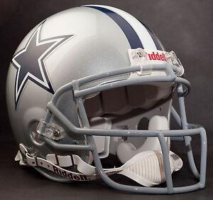 Details About Dez Bryant Dallas Cowboys Schutt Ropo Sw Football Helmet Facemask Gray