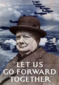 Image result for churchill poster ww2