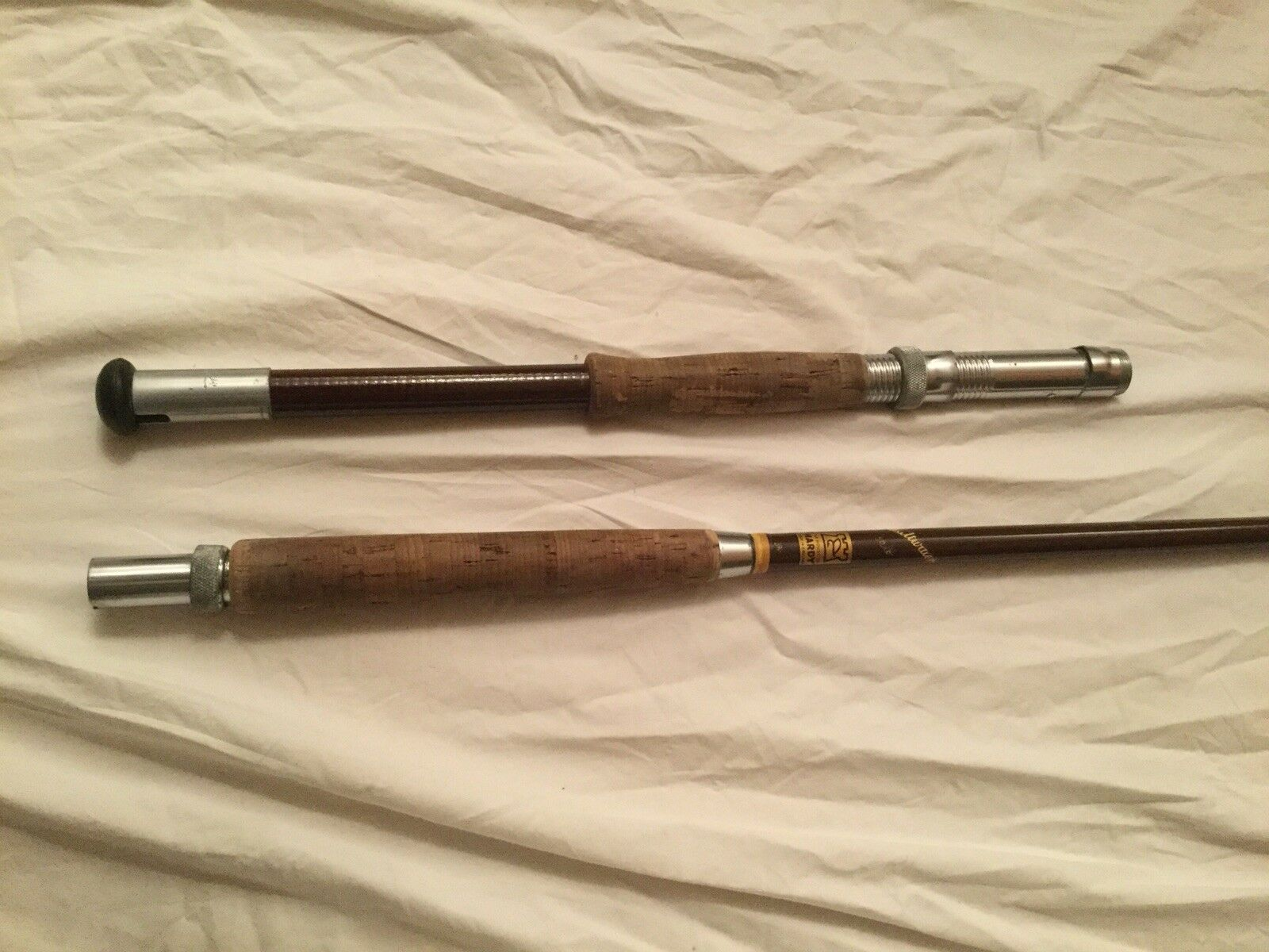 Hardy Bredhers Boat Rod 50 Lb Pound Class Vintage 7 Foot Long 7' With Bag