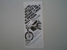 advertising Pubblicità 1980 MOTO SWM RACING GTS 315