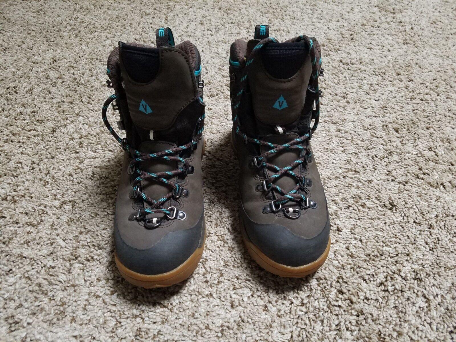 Women's Vasque Vasque Vasque Snowblime UltraDry Waterproof Insulated Hiking Boots Size 7.5 M 8571da
