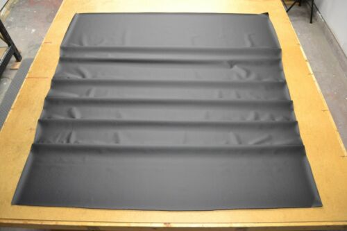 1971 71 DODGE CHARGER BLACK NON PERFORATED HEADLINER 6 BOW USA MADE TOP QUALITY