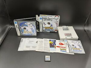AUTHENTIC Pokemon SoulSilver Version Nintendo DS Complete in box with Pokewalker