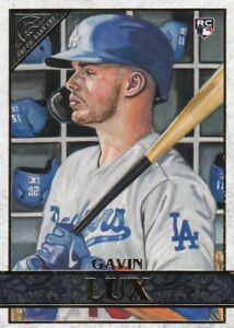 2020 TOPPS GALLERY RC GAVIN LUX LOS ANGELES DODGERS ROOKIE - E2394