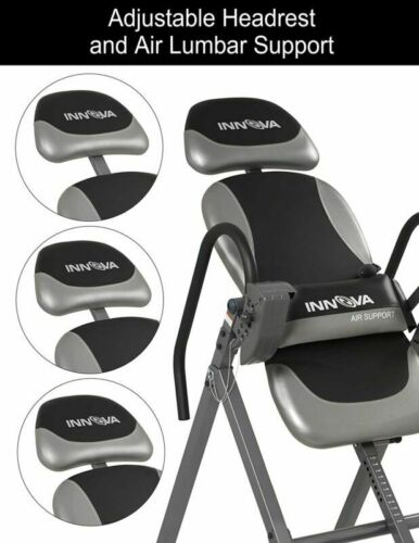 Back Pain Therapy Inversion Table Adjustable Medical Mobility Teeter Chair Hang