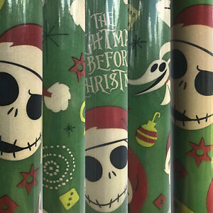 1 Roll of Disney's The Nightmare Before Christmas Gift ...