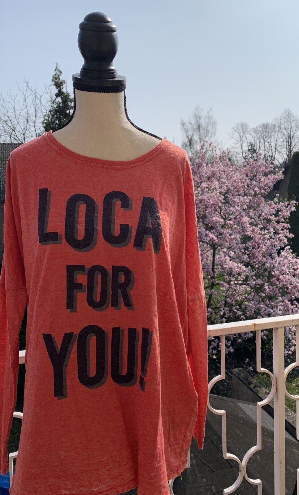 Sweater the hip tee Damen Shirt S M NEU Loca Ibiza Jades 36 38 Rot