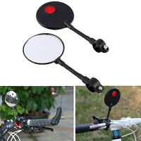 New Bike Bicycle Cycling Sports Durable Super Light Handlebar Rear View Mirror