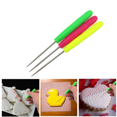 Newest Biscuit Needle Cake Tester Baking Tools Stainless Steel Sugar Needle 2019