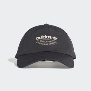 7740b8fd5 adidas Originals NMD Men s CAP Snapback Hat Visor Strap Casual Black ...