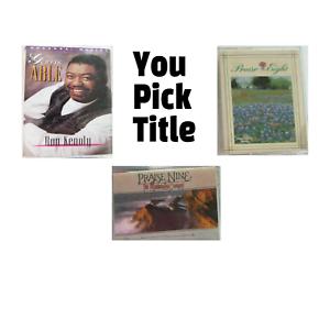 Christian Praise & Worship Hosanna Maranatha Cassette Tapes 80s 90s YOU PICK