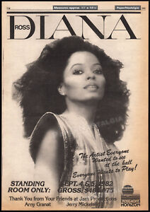 DIANA-ROSS-Original-1982-Trade-AD-promo-poster-Rosemont-Horizon-SRO-concert