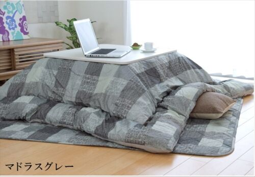 New Fluffy Kotatsu Futon /& Mat Set for 75-80cm table Free Shipping from JAPAN