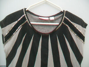 SASS-amp-BIDE-EMBELLISHED-TOP-SIZE-EXTRA-SMALL