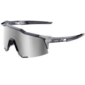 349338f6ed3 Image is loading 100-Speedcraft -Sunglasses-Translucent-Crystal-Grey-HiPER-Silver-