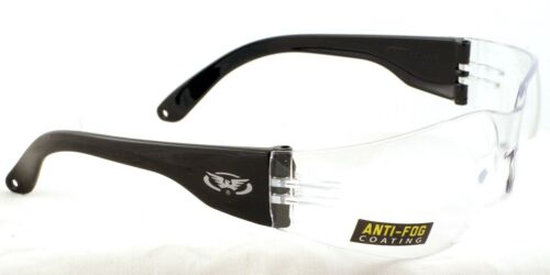 New Clear Motorcycle Anti-Fog Glasses/UV400 Sunglasses Free Pouch & Postage