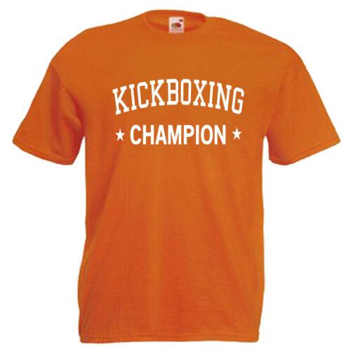 Kickboxing Champion Kickboxer Children/'s Kids T Shirt