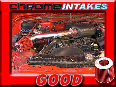 K/&N+RED 1991-2004 JEEP CHEROKEE//GRAND 2.5L I4 4.0L I6 AIR INTAKE KIT 2