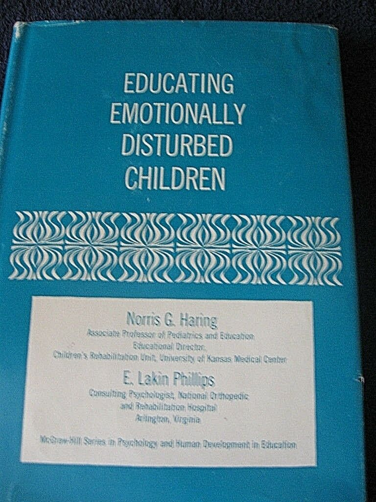 emotionally disturbed children While you will, at times, have to discipline children for improper behavior, remember that rewarding positive behavior is ultimately far more effective in the long run many students with emotional and behavioral disorder tend to take any discipline as a personal attack, and because of this, they often learn very little from it.