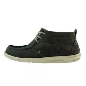 Dude Chukka Canvas Boot Black Shoes Conrad xpqxZ60