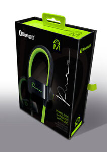 Mental Beats Pure Wireless Bluetooth Earbuds With Microphone Green Black 695087723234 Ebay