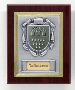 Ehrentafel-Auszeichnung-Ehrenpreis-Holz-mit-Wappen-Koeln-und-Wunsch-Gravur