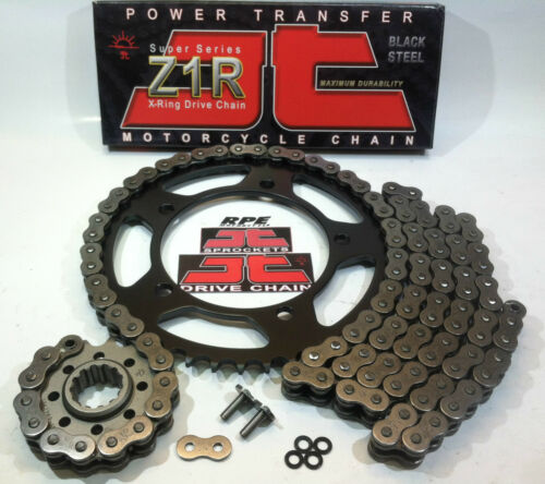 YAMAHA YZF R1 2006-08 JT Z1R X-Ring QUICK ACCELERATION CHAIN AND SPROCKETS KIT