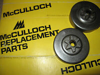 Mcculloch Mini Mac 30 35 25 110 120 130 2.0 310 320 330 Chainsaw Sprockets