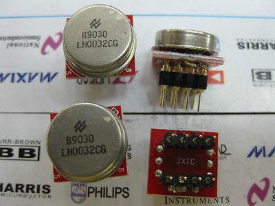 1x LH0032 CAN12 TO DIP8 Ultra Fast FET-Input Operational Amplifier LH0032