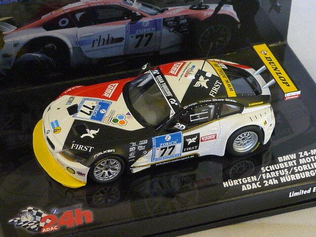 Minichamps-bmw z4 coupe 24h nurburgring 2009 müller sorlie farfus hürtgen 1 43