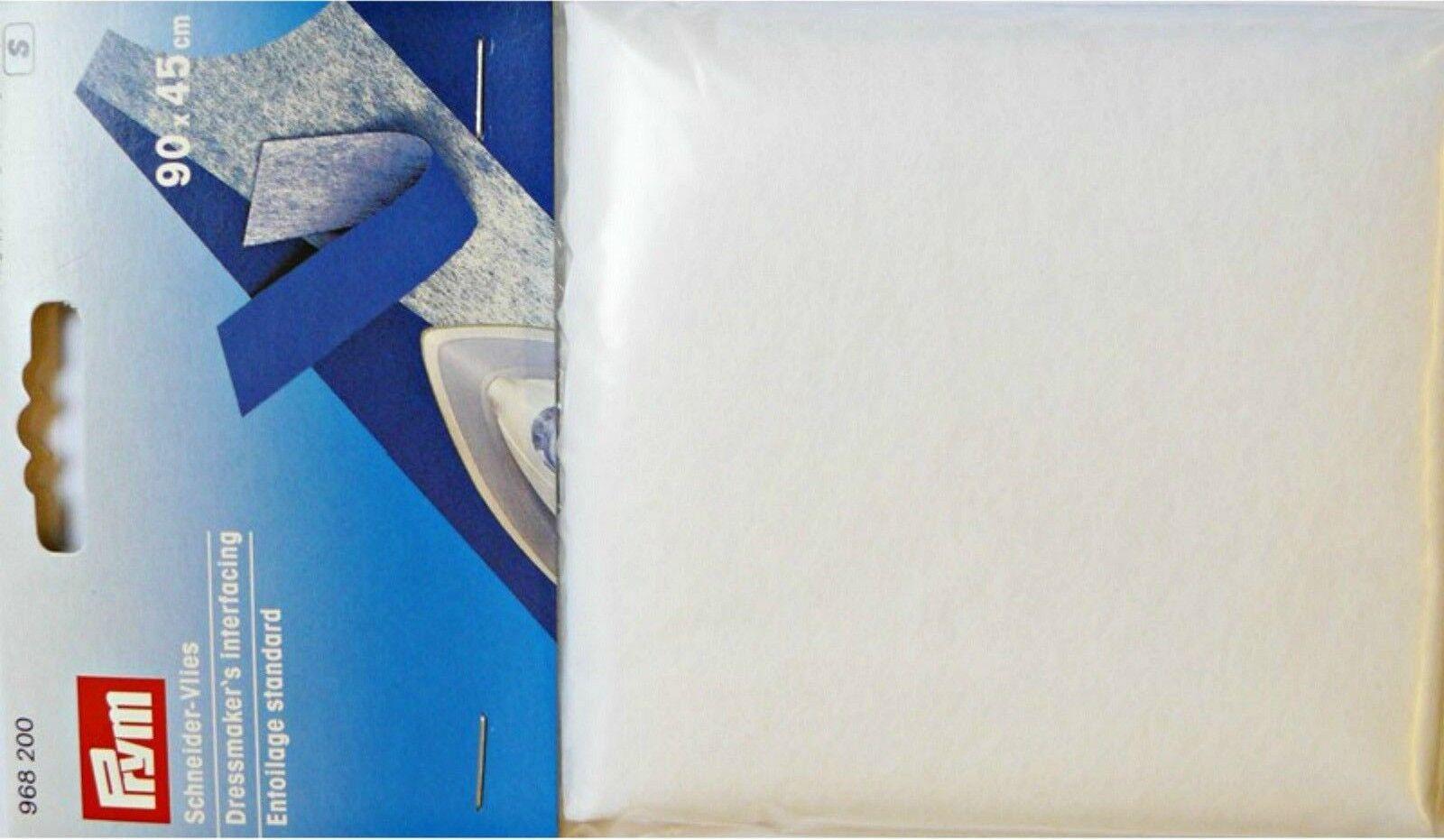 Prym Dressmakers Iron On Interfacing White