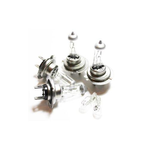 For BMW 1 Series E81 H7 H7 501 100w Clear Xenon High//Low//Side Headlight Bulbs