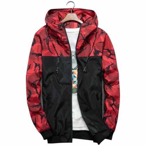 Men/'s Hoodie Winter Coat Warm Fleece Thick Outdoor Hooded Jacket Parka Padded