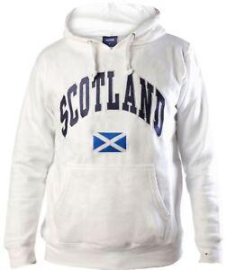 con stile small in bianco 5055906448161 X Scozia con Harvard cappuccio in testo Maglia wdgEd