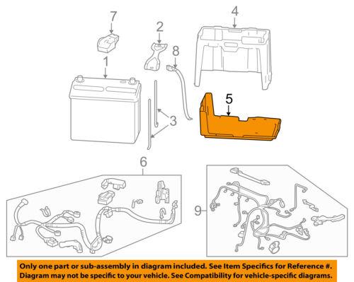 HONDA OEM-Battery Box Tray Bracket 31521SNAA00