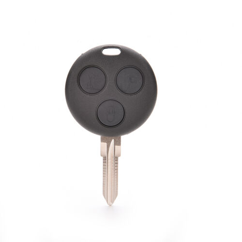 Uncut Remote Key Replacement Case 3 Button for Benz Smart ForTwo 450 ECCA
