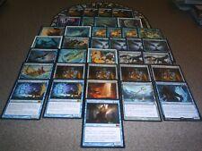 MTG Magic ARCANE TUTELAGE DECK Denial Sphinx's Faerie Custom Blue LOT Control