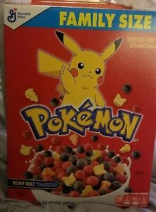 POKEMON-CEREAL-LIMITED-EDITION-GENERAL-MILLS-Pikachu-Rare