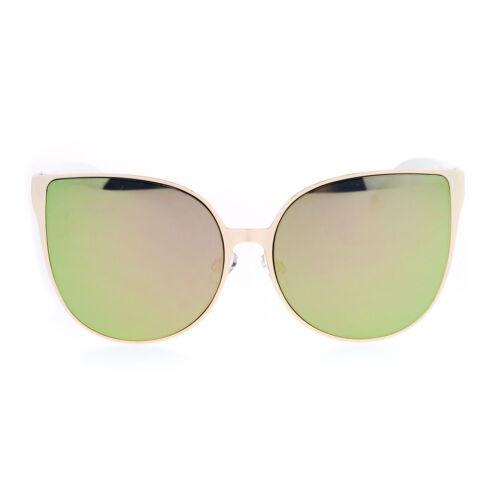 Womens Oversized Fashion Sunglasses Round Butterfly Designer Shades
