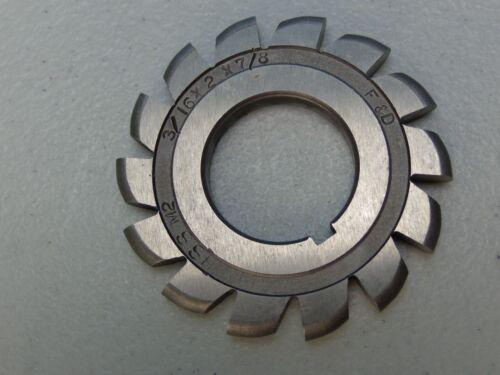 """F/&D Cutting Tools Convex Cutter...HS-M2...3//16/"""" x 2/"""" x 7//8/"""""""