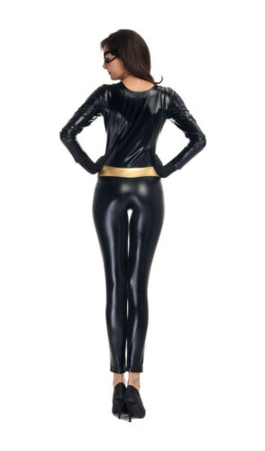 Catwoman Fancy Dress Cosplay Costume Outfit
