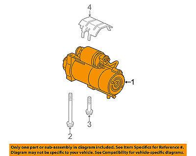 gm oem-starter motor 10465385 | ebay  ebay