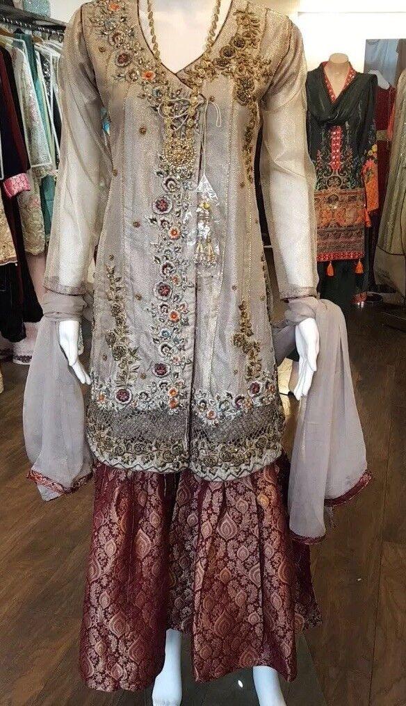 Gharara With Kameez Shaadi Wedding Wear