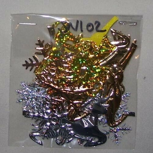 126 lotes para elegir 30 Mezclados Copos de Nieve//Reno 2.5CM - 6.5 CM